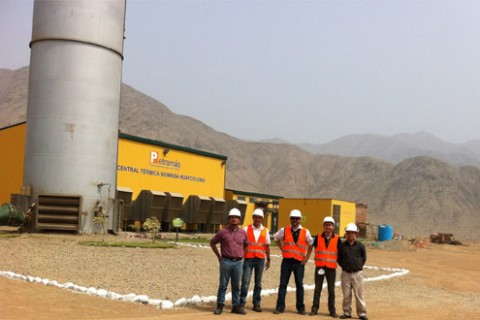 Huaycoloro Landfill gas Peru