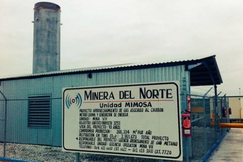 Mimosa CMM Coalmine Mexico